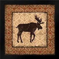 Modern Moose Spice I: Framed Art Print by Brent, Paul