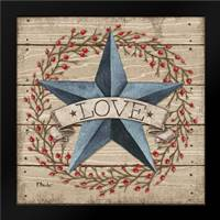 Love Star: Framed Art Print by Brent, Paul