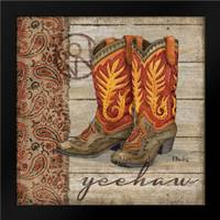 Wild West Boots I: Framed Art Print by Brent, Paul