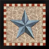 American Barn Star II: Framed Art Print by Brent, Paul