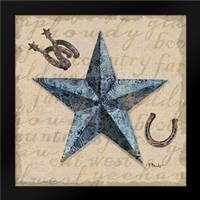 Bandana Barn Star II: Framed Art Print by Brent, Paul