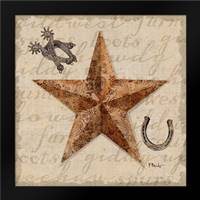 Bandana Barn Star IV: Framed Art Print by Brent, Paul