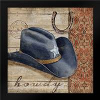 Wild West Hats I: Framed Art Print by Brent, Paul