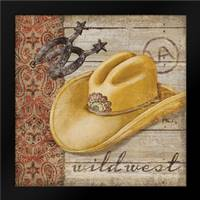 Wild West Hats II: Framed Art Print by Brent, Paul