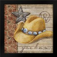 Wild West Hats IV: Framed Art Print by Brent, Paul