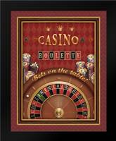 Roulette: Framed Art Print by Brissonnet, Daphne
