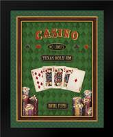 Texas Hold Em: Framed Art Print by Brissonnet, Daphne