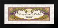 Bouquet de Violettes: Framed Art Print by Berman, Susan