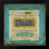 Scrapbook Faith: Framed Art Print by Berndt, Bethany
