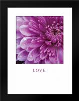 Love: Framed Art Print by Berzel, Erin