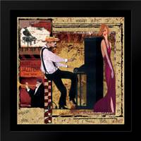 Jazz Piano: Framed Art Print by CW Designs Inc.
