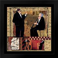 Jazz Trumpet: Framed Art Print by CW Designs Inc.