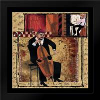 Jazz Cello: Framed Art Print by CW Designs Inc.