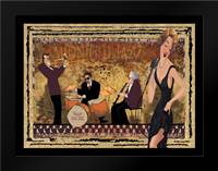 Jam Session II: Framed Art Print by CW Designs Inc.