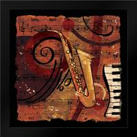Jazz Music IV: Framed Art Print by CW Designs Inc.
