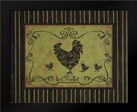 le Poulet: Framed Art Print by Devereux, Sophie