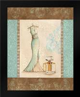 Aqua Fashion I: Framed Art Print by Devereux, Sophie