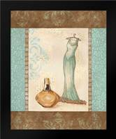 Aqua Fashion II: Framed Art Print by Devereux, Sophie