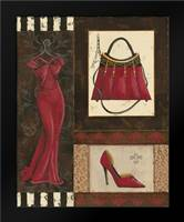 Fashion Collage I: Framed Art Print by Devereux, Sophie