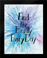 Every Day Beauty: Framed Art Print by Frazer, Amy