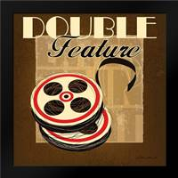 Double Feature: Framed Art Print by Gamel, Stacy