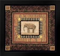 Elephant: Framed Art Print by Gladding, Pamela