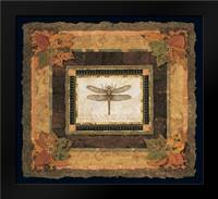 Dragonfly II: Framed Art Print by Gladding, Pamela
