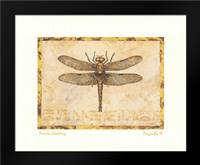 Dragonfly III: Framed Art Print by Gladding, Pamela
