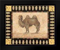 Camel: Framed Art Print by Gladding, Pamela