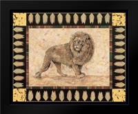 Lion: Framed Art Print by Gladding, Pamela