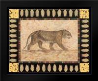 Tiger: Framed Art Print by Gladding, Pamela