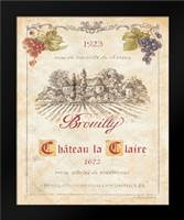 Brouilly: Framed Art Print by Gladding, Pamela