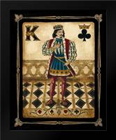 Harlequin King: Framed Art Print by Gorham, Gregory