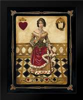 Harlequin Queen: Framed Art Print by Gorham, Gregory