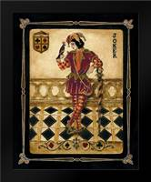 Harlequin Joker: Framed Art Print by Gorham, Gregory