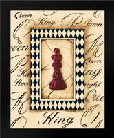 Chess King: Framed Art Print by Gorham, Gregory