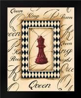 Chess Queen: Framed Art Print by Gorham, Gregory