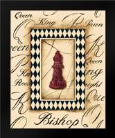Chess Bishop: Framed Art Print by Gorham, Gregory