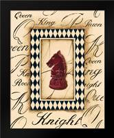 Chess Knight: Framed Art Print by Gorham, Gregory