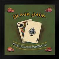 Blackjack: Framed Art Print by Gorham, Gregory