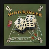 High Roller: Framed Art Print by Gorham, Gregory