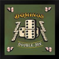 Dominos: Framed Art Print by Gorham, Gregory