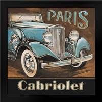 Paris Cabriolet: Framed Art Print by Gorham, Gregory