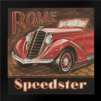 Rome Speedster: Framed Art Print by Gorham, Gregory