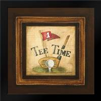 Golf Tee Time: Framed Art Print by Gorham, Gregory