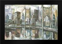 Cityscape I: Framed Art Print by Gorham, Gregory