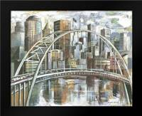 Cityscape II: Framed Art Print by Gorham, Gregory