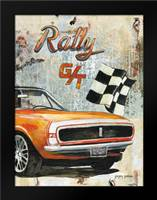 Rally Car: Framed Art Print by Gorham, Gregory