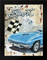 Sport Car: Framed Art Print by Gorham, Gregory