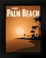 Palm Beach: Framed Art Print by Giacopelli, Jason